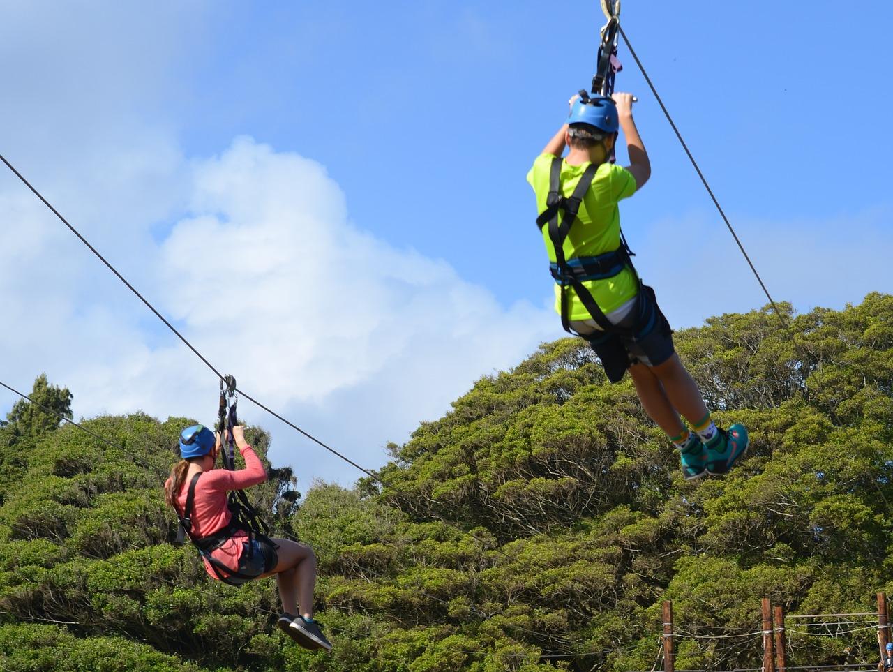 Csúszókötél Costa Rica