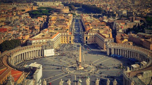 A Vatikán főtere a Szent Péter tér
