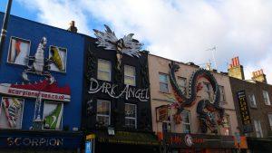 Camden Town, Anglia-London