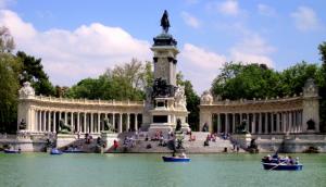 Madrid parkok