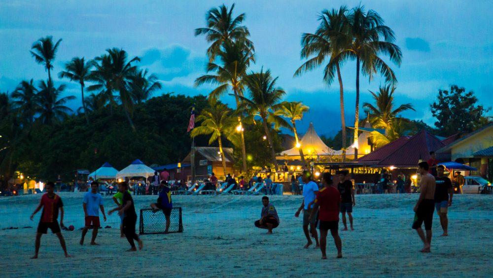Langkawi tengerpart