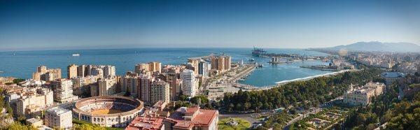Malaga ideális telelőhely
