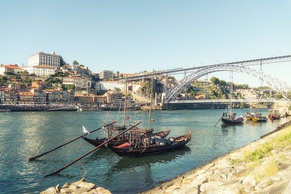 Porto egyik nevezetessége az I. Lajos híd