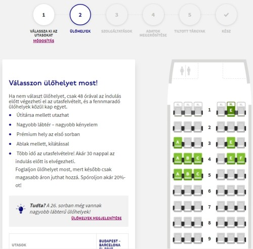 Wizzair check in 4