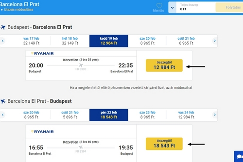 Ryanair repjegy foglalás 4