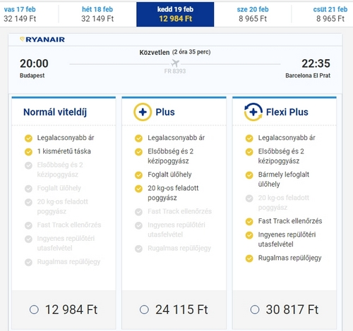 Ryanair repjegy foglalás 5