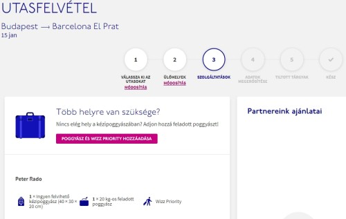 Wizzair check in 6
