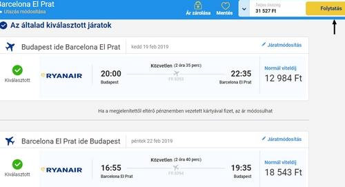 Ryanair repjegy foglalás 6