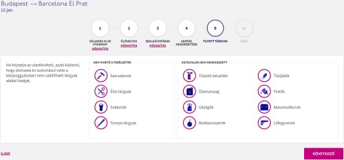 Wizzair check in 8