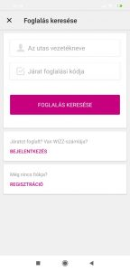 Wizzair check in mobil 2