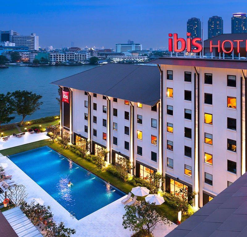 Bangkok utazás Ibis Riverside