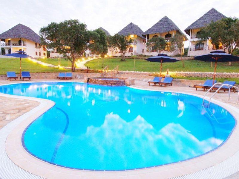 zanzibár utazás hotel blue bay