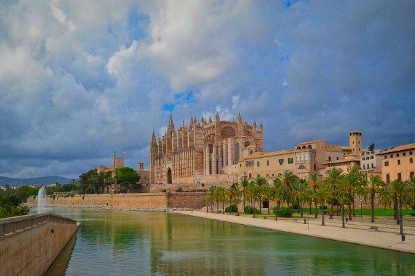 A mallorcai katedrális valóban gyönyörű