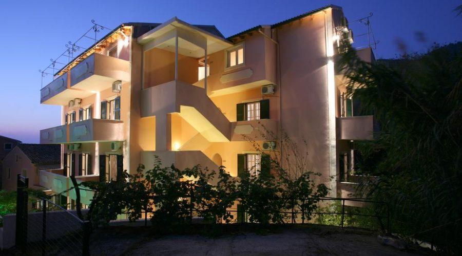 Korfu utazás Alexis Apartman