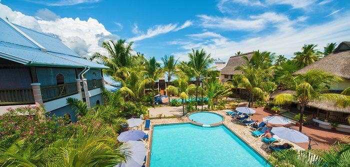 Mauritius utazás Le Palmiste Resort