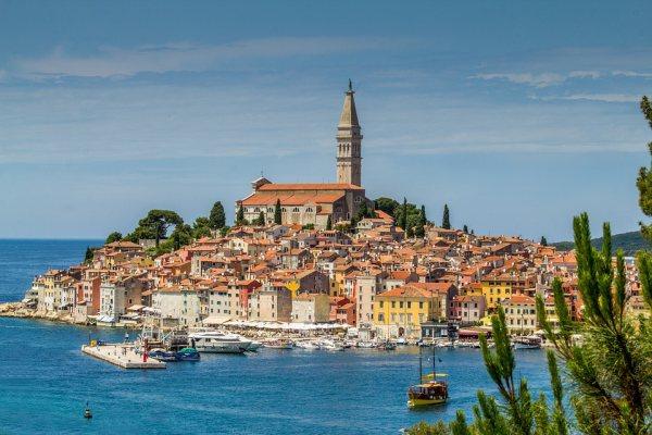 Isztria egyik legszebb városa Rovinj