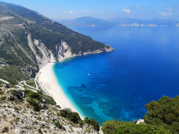 A Myrtos többször volt a legszebb strand