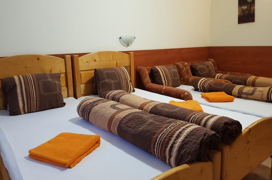 hungária panzió szobák