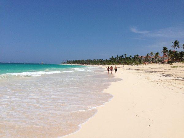 Punta Cana utazás fő célpontja a tengerpartozás!