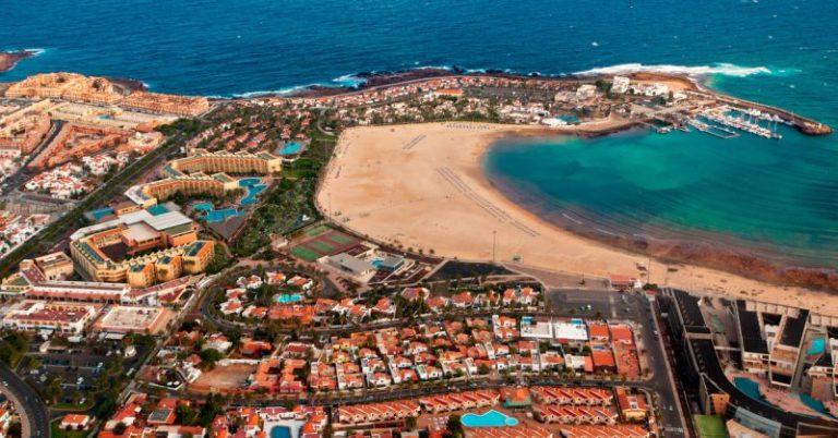 Fuerteventura, Caleta de Fuste tengerpartja