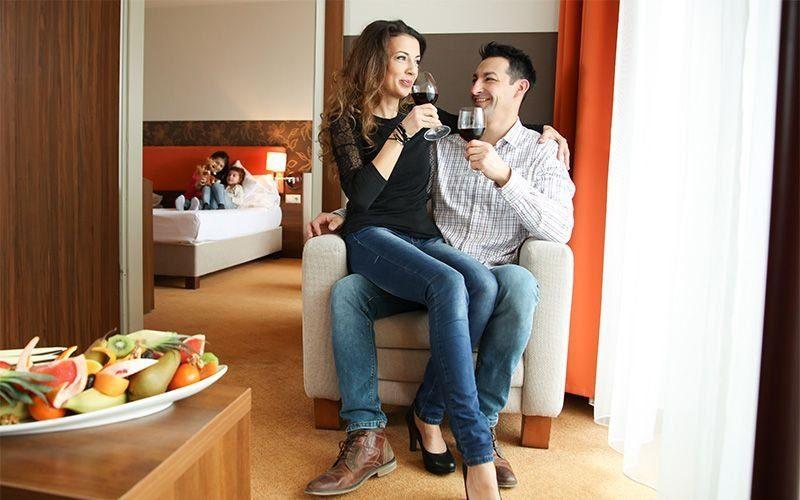 Hunguest Hotel Forrás - családi szoba